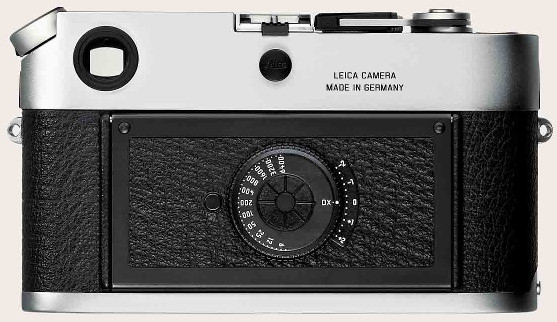Leica M7 silver (back)